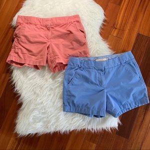 J Crew Shorts 2 Shorts Size 8